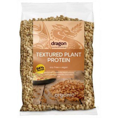 proteína texturizada de ervilha e fava